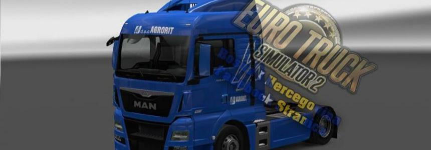 MAN TGX E6 Agrorit Skin