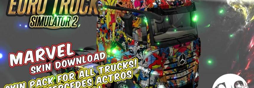 Marvel Universe Skin Pack for All Trucks