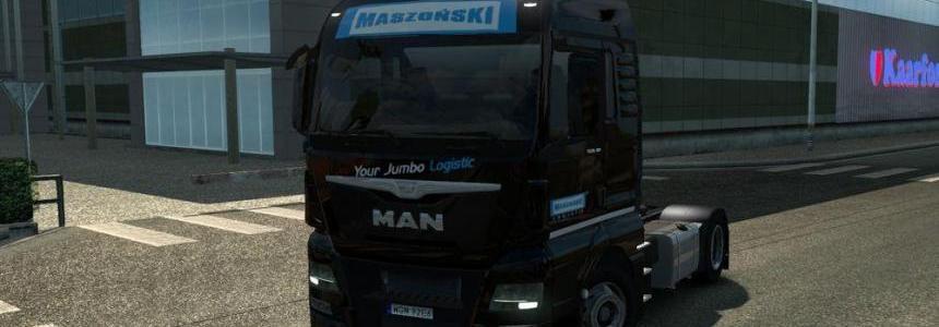 Maszonski Transport MAN TGX Euro 6 skin