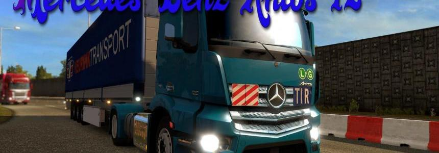 Mercedes Benz Antos 12 Update for v1.19
