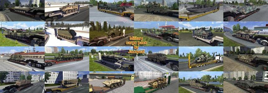 Military Cargo Pack by Jazzycat  v 1.6.1