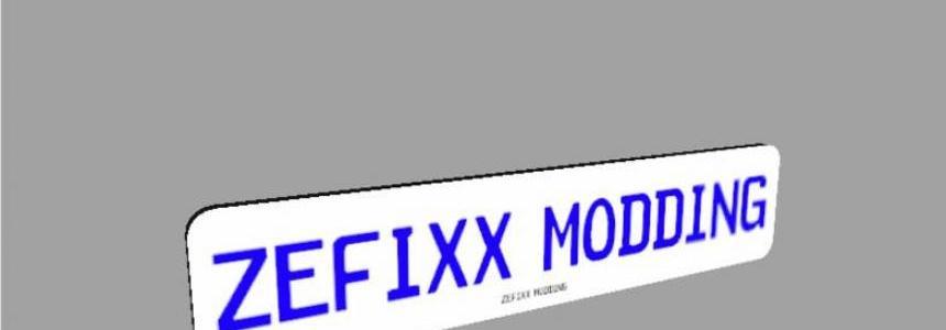 Name plate v1.0