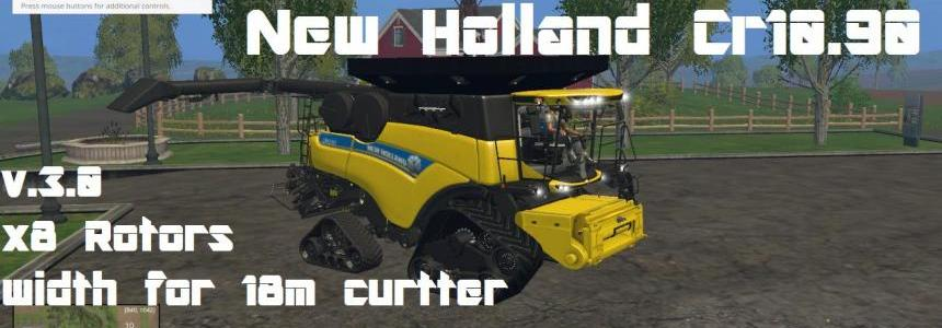 New Holland Cr10.90 Crawler Combine v3.0 Pack