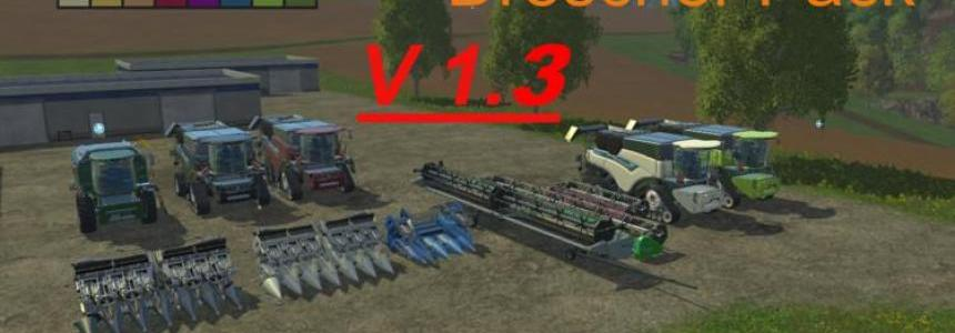 New Holland Drescher Pack v1.3