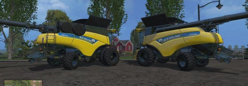 New Holland MultiFruit combines v1