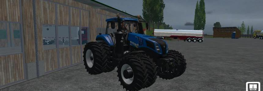 New Holland T8 435 Dual Wheel  V1.3