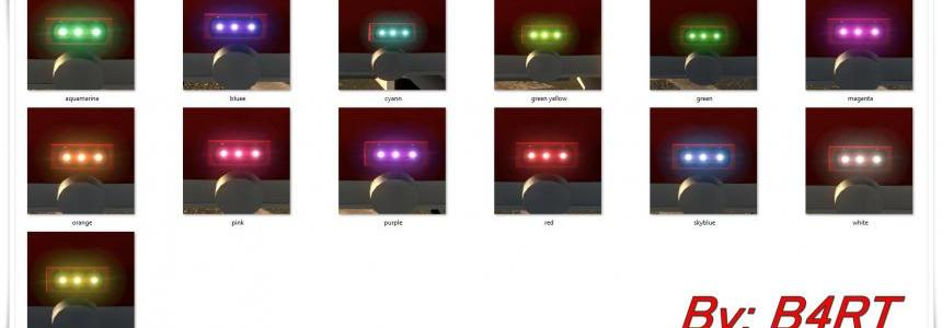 New Led Colors v1.0 for Modders
