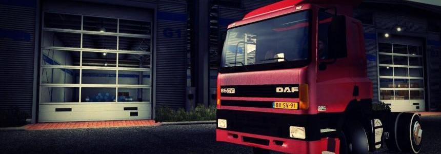 Old DAF CF 85