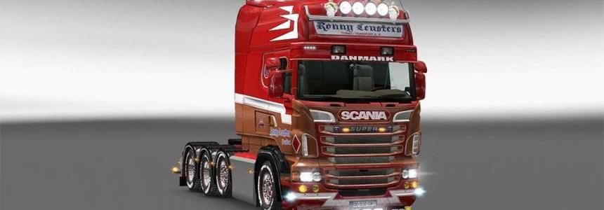 Ronny ceusters skin for Scania RJL