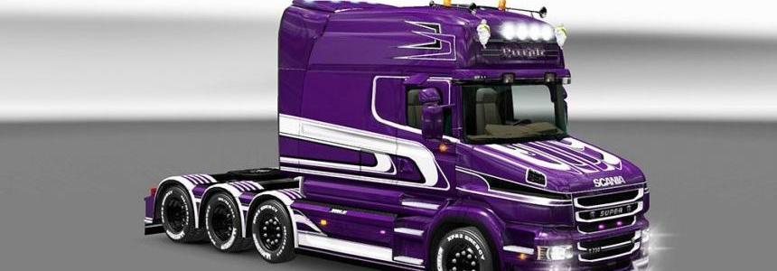 Scania Purple Torpedo Skin