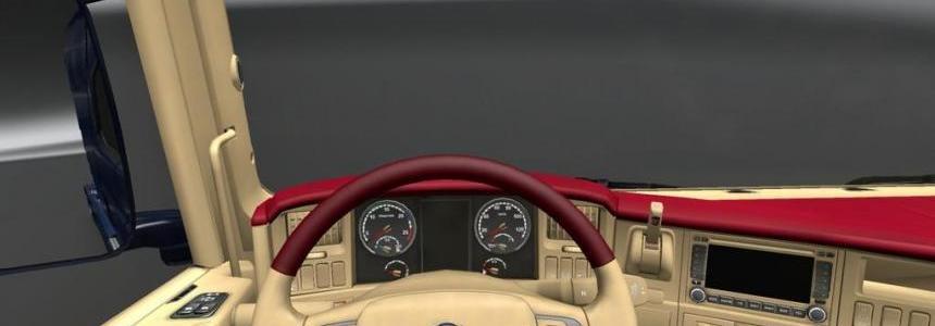 Scania R interior 1.19