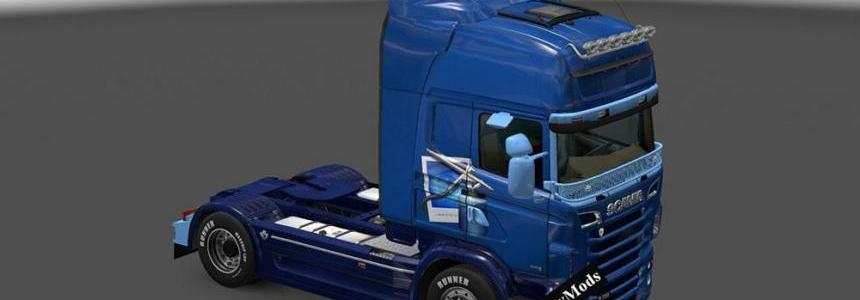 Scania RJL Adobe Photoshop Skin
