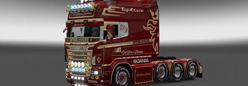 Scania RJL Old School Trucking Skin