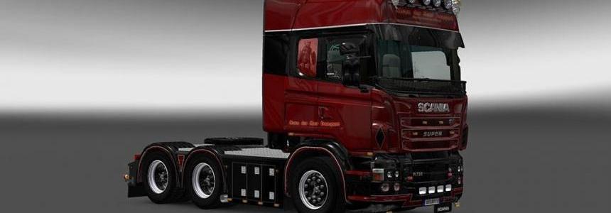 Scania RJL Van Der Meer Skin