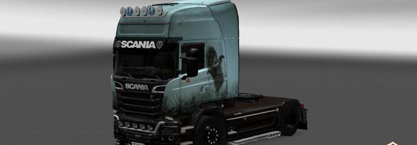 Scania Streamline Hedgehog in the Fog Skin