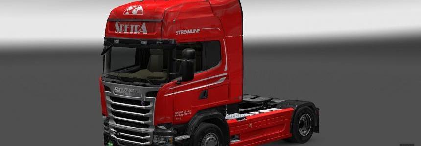 Scania Streamline Spetra CZ Skin