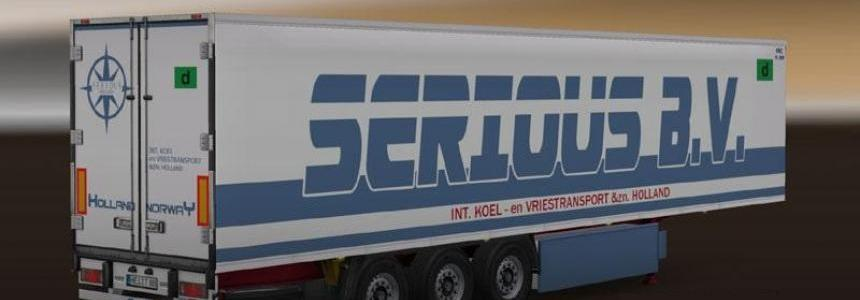 Serious B.V. Coolliner Trailer Skin Pack