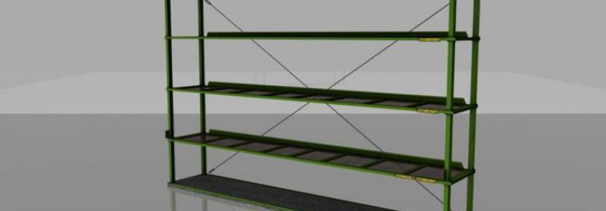 Shelf for LS15 v1.0