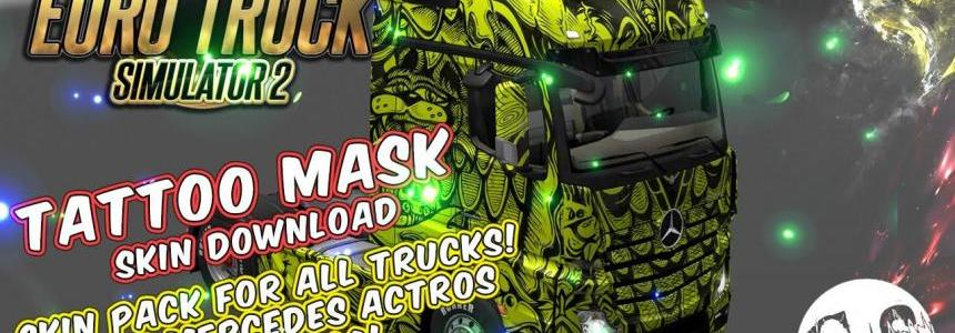 Tattoo Mask Skin Pack for All Trucks
