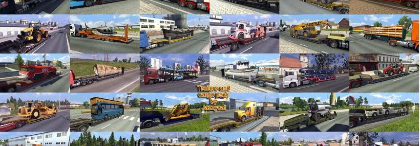 Trailers and Cargo Pack by Jazzycat  v3.4.1