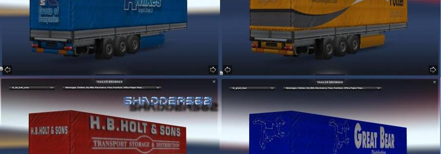 UK Haulage Companies Trailer Pack 1 v1.1