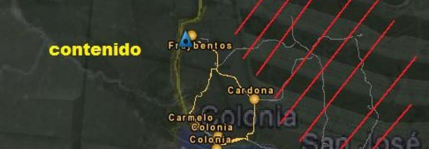 Uruguay Map v2.2 BETA