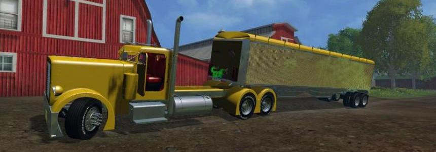 US Wilson Grain Trailer v1