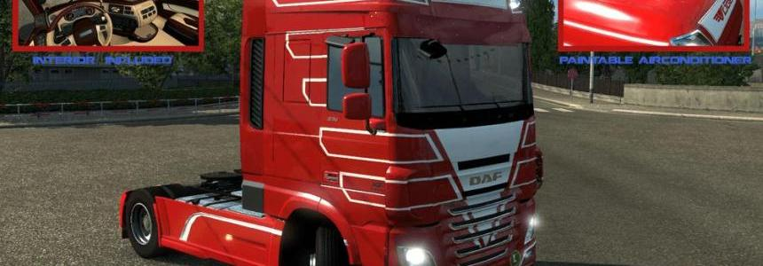 Vogel Transporte DAF XF based on Ohahah v1