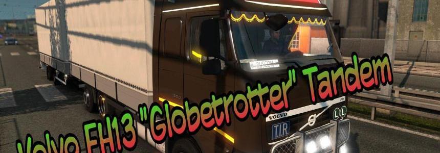 Volvo FH13 Globetrotter Tandem