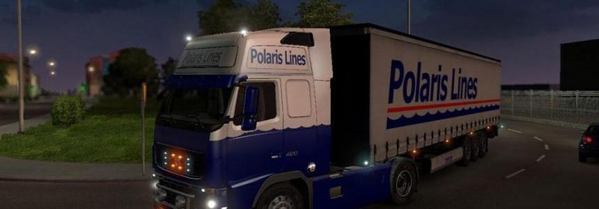 Volvo FH16 2009 Polaris Lines Skin