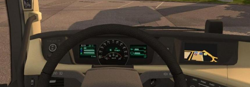 Volvo FH16 2012 and 2013 (ohaha) Dashboard