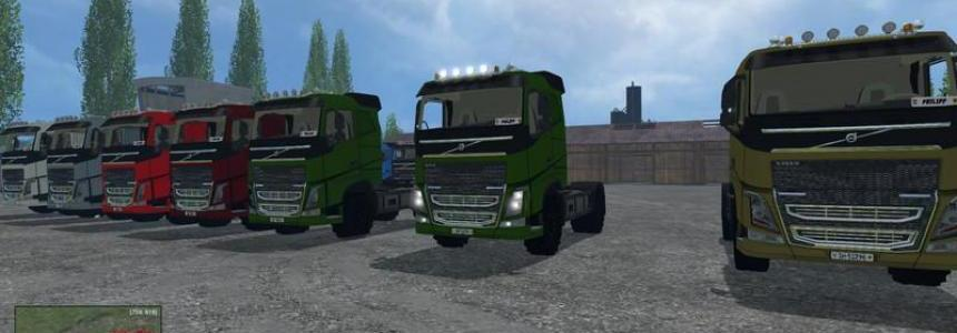 Volvo FH16 2014 Agricultural v1.0 Strassenbereifung