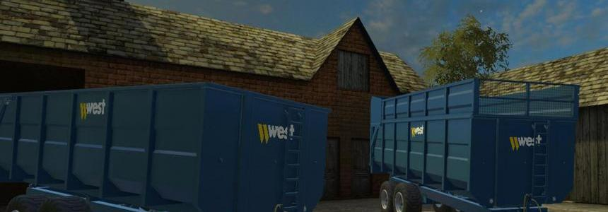 West 16 Tonne Trailer v1.0