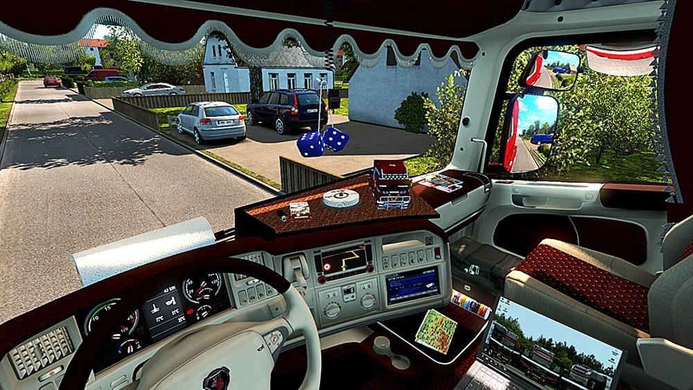 Scania r interior fix for Interior design simulator