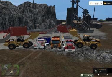 Equipment for the map mining construction economy V1