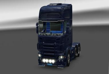 GTM LED Sunvisors Scania