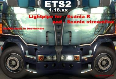 Lightpipe for Scania R + Streamline Cabin