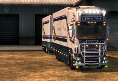 Scania R500 Tijsterman en Pronk Combie 1.18