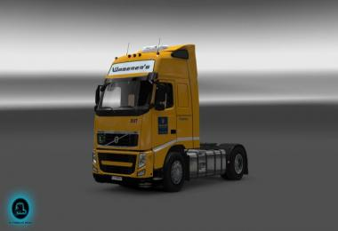 Waberer's Volvo fh classic truck  v2 (reworked)