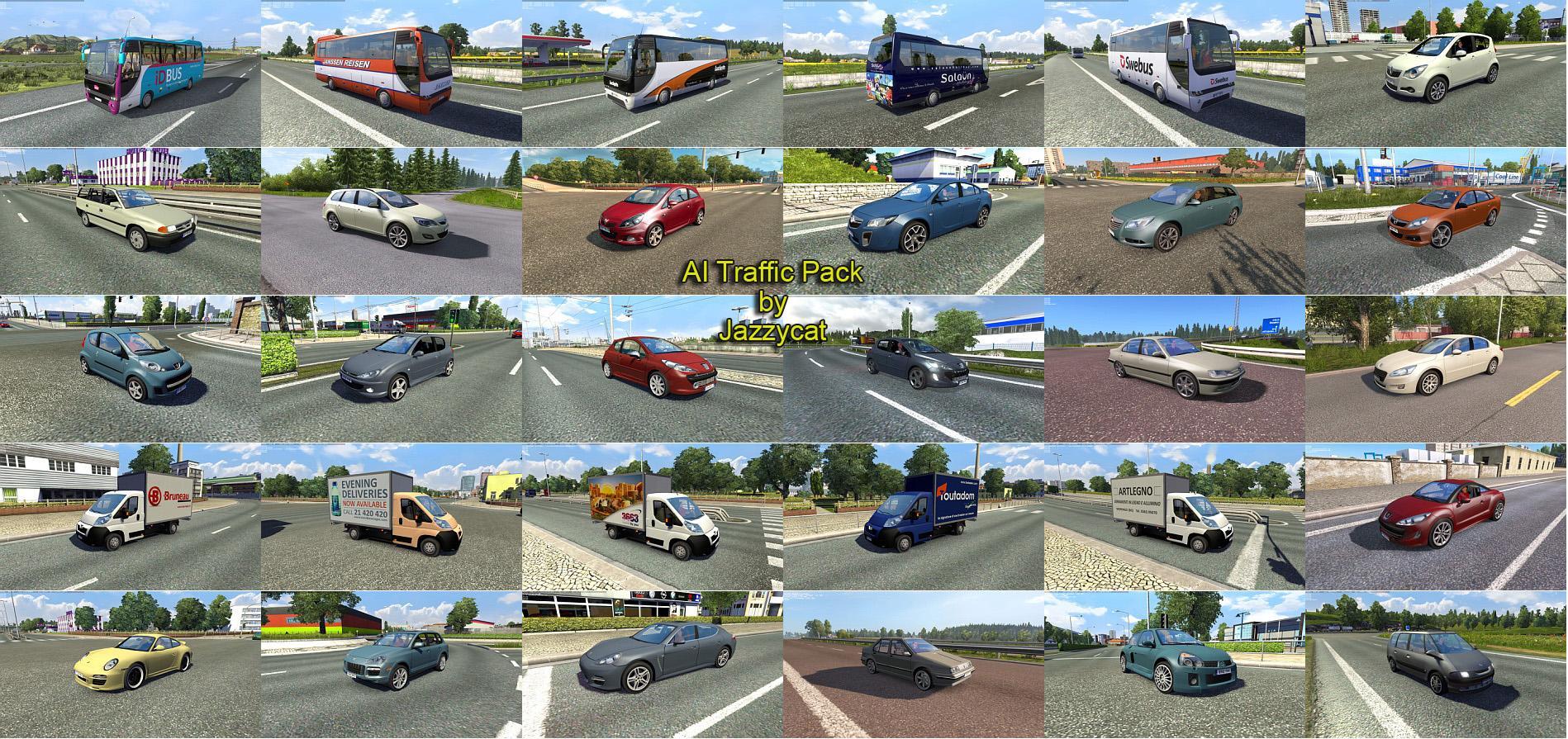 AI Traffic Pack by Jazzycat v2 9 - Modhub us