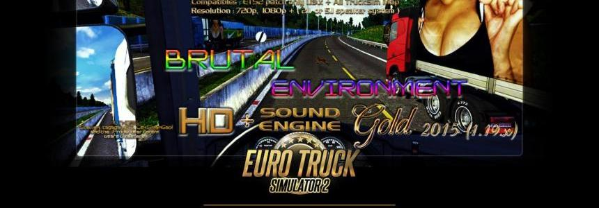 Brutal Environment Gold 2015 American Truck Edition 1.19.x patch