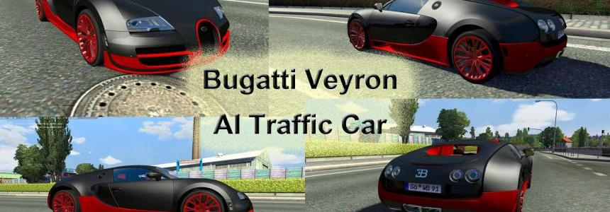 Bugatti Veyron AI Traffic Car for 1.19.x