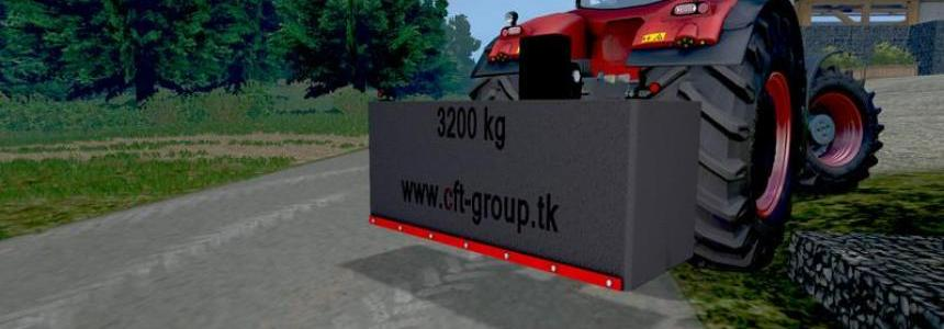 CFT weight 3200kg v1.0