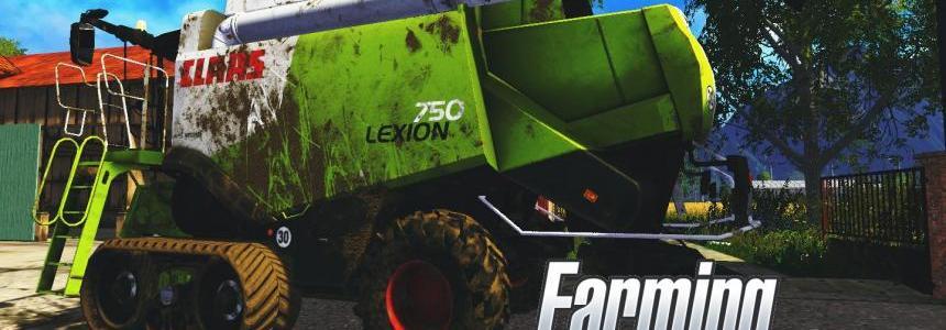 CLAAS LEXION 750 v1.1