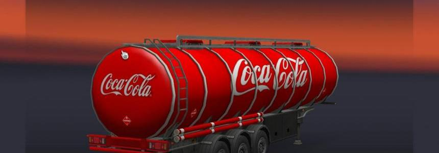 Coca cola trailer 1.19.xx