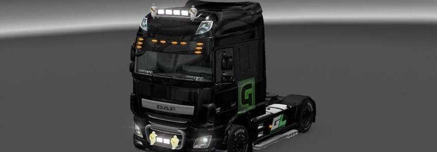 DAF XF Euro 6 Driver Geo Skin