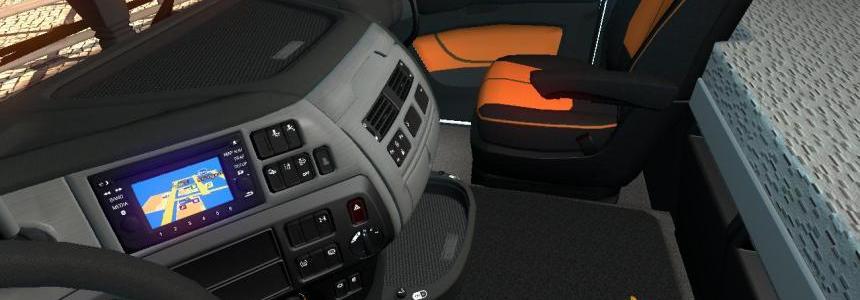 DAF XF Euro 6 GPS Background