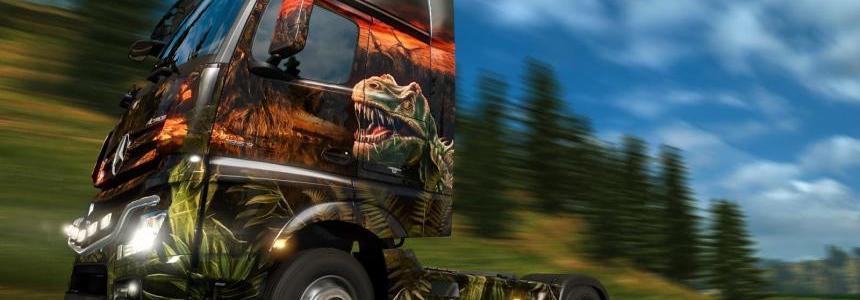 Dinosaur horn