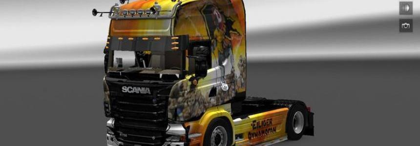 Dynamo Scania R v1.14.2
