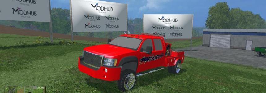 GMC Wielding Rig Truck v1